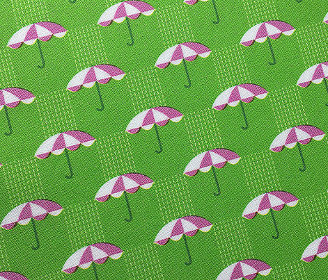 It's Raining Again* (Grass) || umbrella umbrellas spring rain spring preppy Seattle green