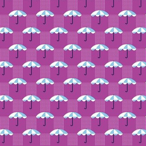 It's Raining Again* (Vesuvius) || umbrella umbrellas spring rain spring preppy Seattle purple