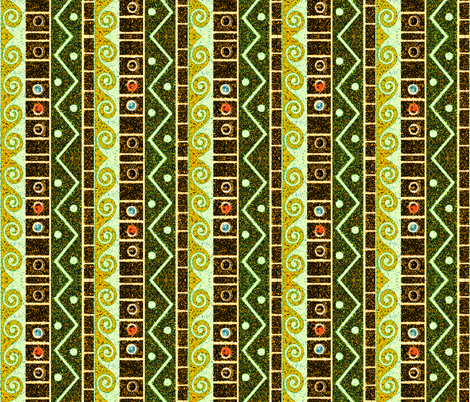 egyptian 75 fabric by hypersphere on Spoonflower - custom fabric