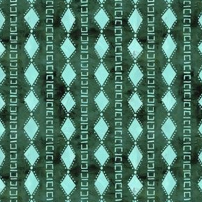 kahala diamond stripe green