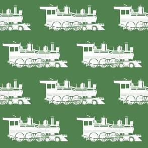 Steam Engines on Killarney Green // Large