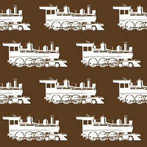 Steam Engines on Coffee // Large