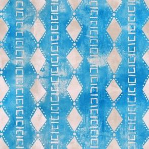 kahala diamond stripe turquiose