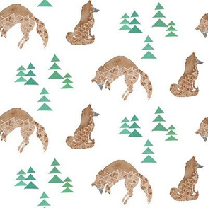 Geometric Foxes and Trees