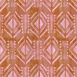 kahala pattern orange
