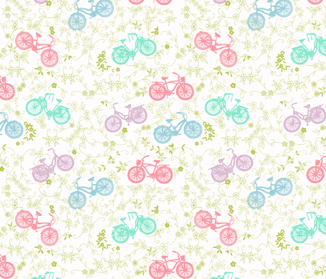 bicycles fabric by tiffanyaryee on Spoonflower - custom fabric