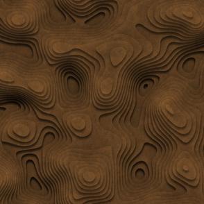 Sand Topographic Landscape