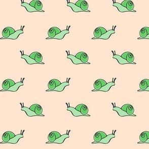 snail dots