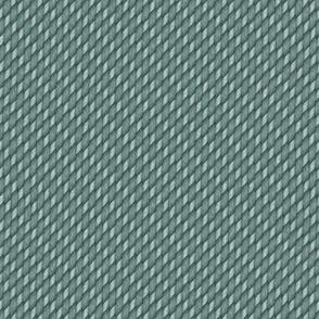 Deep Aqua Blue Cross Weave Texture