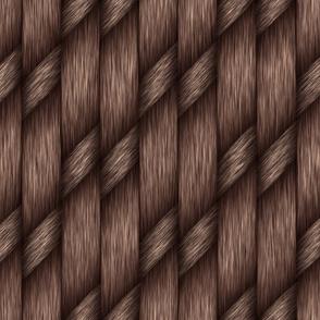 Brown Cross Weave Texture