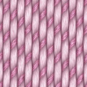 Pink Wicker Rattan