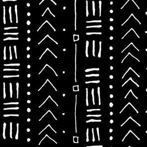 Tribal Bands on Black // Vertical