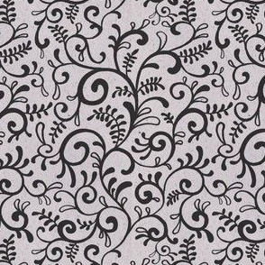 Seamless pattern ornament line curl whorl  002