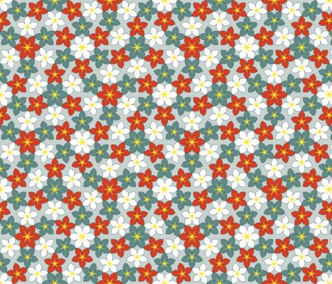 07473354 : U65 flowers 3 : retski fabric by sef on Spoonflower - custom fabric