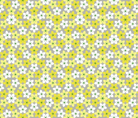 07473527 : U65 flowers 3 : caprican fabric by sef on Spoonflower - custom fabric
