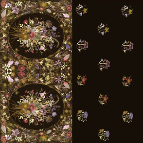 Rustic Bouquet dark floral