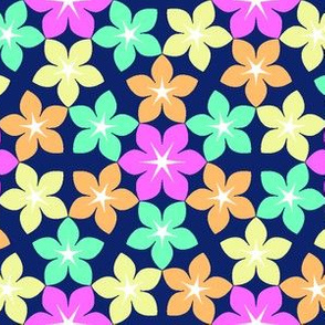 07473600 : U65 flowers 3 : hawaiian