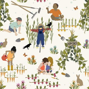 Kids Only - Gardening - H White