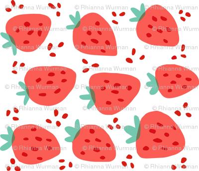 Strawberries - Rotated