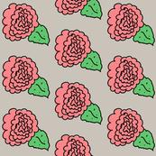 Pink Carnation Doodle