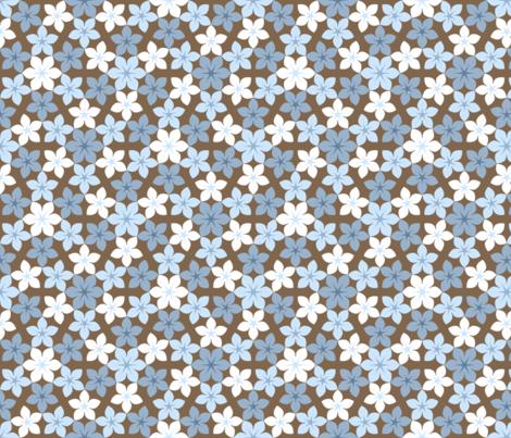 07474451 : U65 flowers 3 : natural fabric by sef on Spoonflower - custom fabric