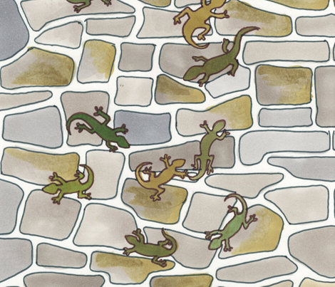 Over the Wall fabric by edsel2084 on Spoonflower - custom fabric