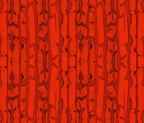 Red Rock Fractures fabric by vagabond_folk_art on Spoonflower - custom fabric