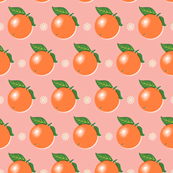 Sunkissed* (Mona Lisa) || orange oranges fruit leaves citrus flower flowers nature pink