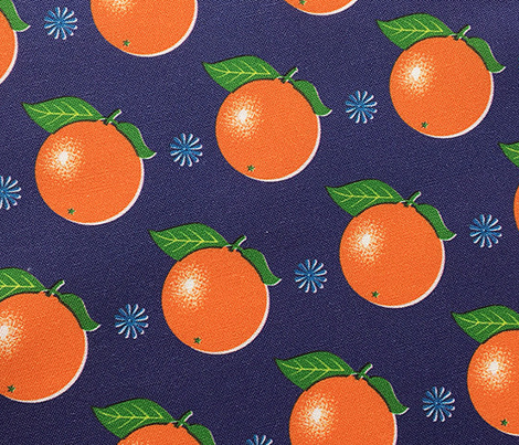 Sunkissed* (Jackie Blue) || orange oranges fruit leaves citrus flower flowers nature navy