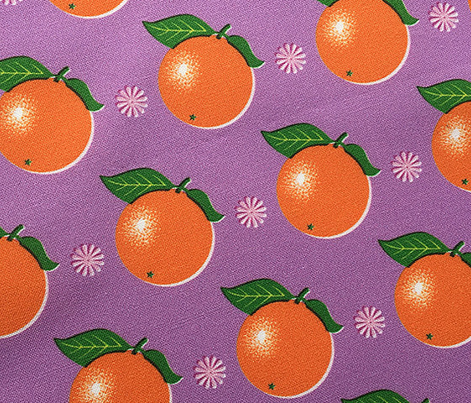 Sunkissed* (Lavender Disaster) || orange oranges fruit leaves citrus flower flowers nature purple