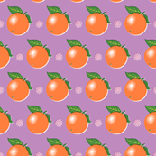 Sunkissed* (Lavender Disaster) || orange oranges fruit leaves citrus flower flowers nature purple