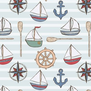 Nautical Sailboats