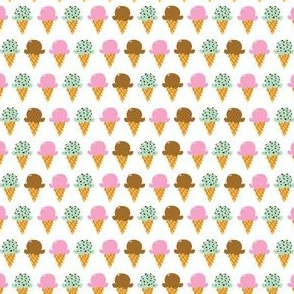 aloha strawberry chocolate mint cones half drop washi
