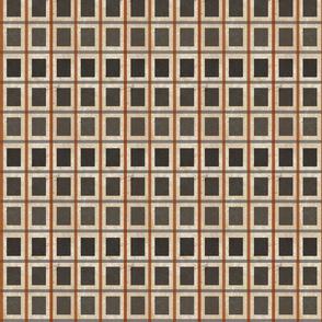 windowpane check-ombre