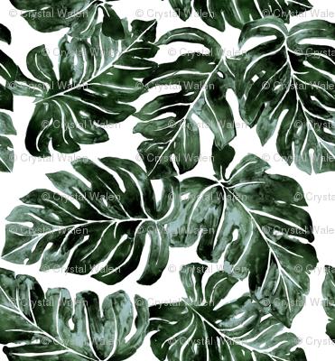 Jungle Monstera-Leaves_deep