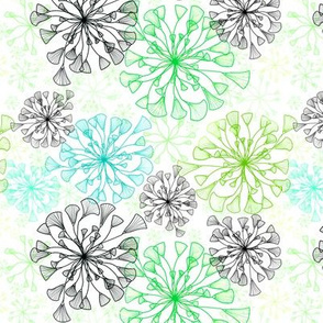 Flor de Paris Green