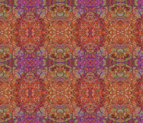 Kaleid Circus Dark Hot Kaleided Smaller fabric by pissykrissy on Spoonflower - custom fabric