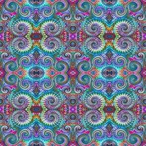 Wild Pastel Spirals