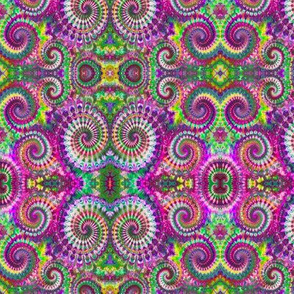 More Wild Rainbow Spirals