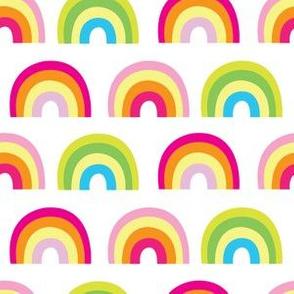 aloha lucky rainbow halfdrop on white