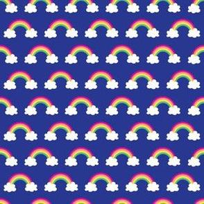 aloha rainbow halfdrop on ultramarine washi