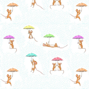 Umbrella Mice