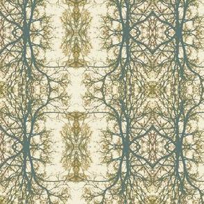 Forest Portrait (Cream & Slate)