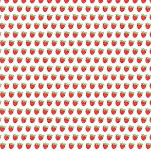 aloha honey bee strawberry half drop washi