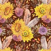 Bohemian Sunflowers