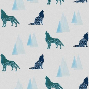 Geometric Wolves and Mountains