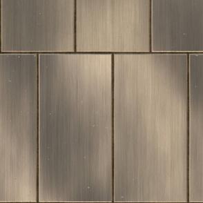 Dark Bronze Metal Tile Plate Texture