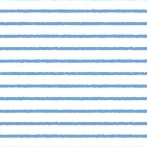 1382_Cornflower blue Stripe on white
