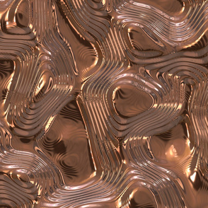 Gold Liquid Metal Texture