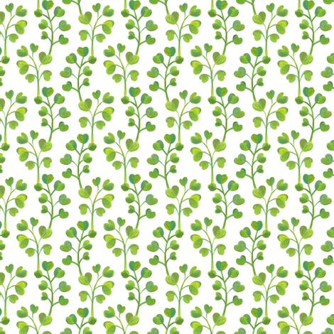 Spring Leaves fabric by maryna_r on Spoonflower - custom fabric